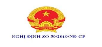 Triển khai Nghị định số 59/2019/NĐ-CP ngày 01/7/2019 của Chính phủ