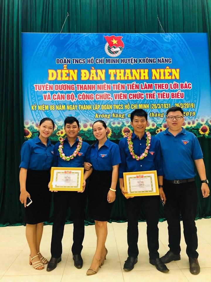 Huyện Krông Năng: Xây dựng lực lượng Đoàn vững mạnh xứng đáng là đội dự bị tin cậy của Đảng