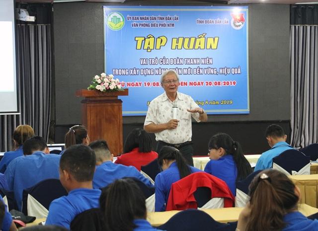 Tập huấn vai trò của Đoàn Thanh niên trong xây dựng nông thôn mới bền vững, hiệu quả