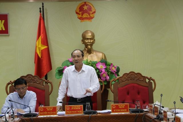 UBND tỉnh họp thông qua các nội dung thuộc thẩm quyền
