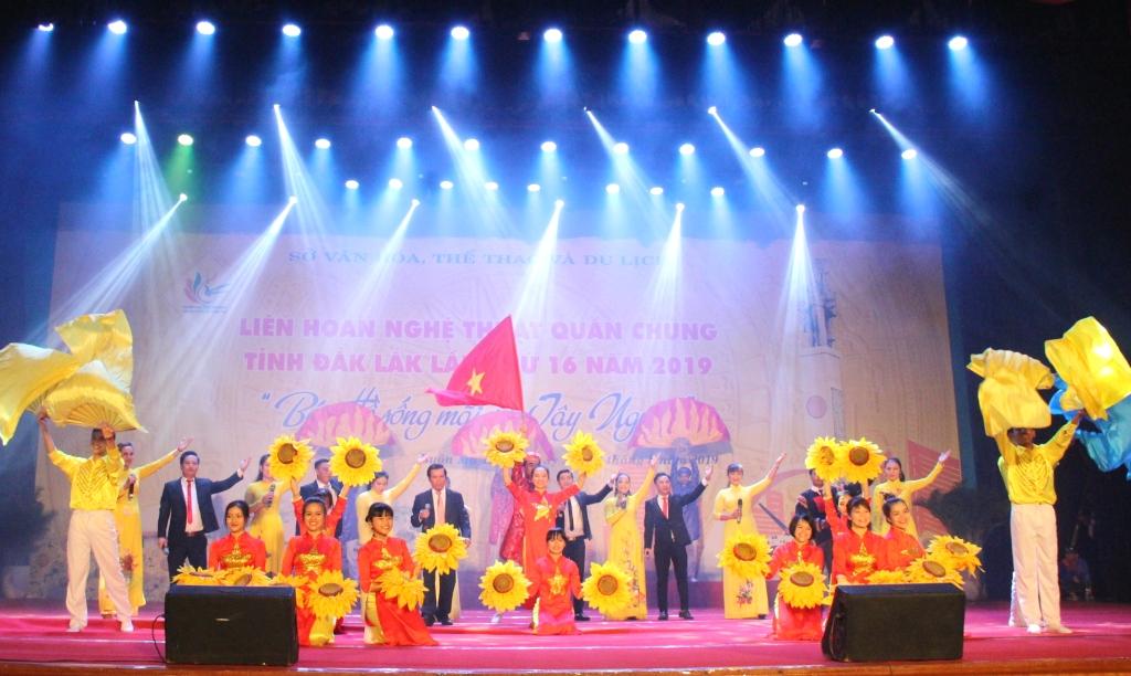 Khai mạc Liên hoan Nghệ thuật quần chúng tỉnh Đắk Lắk lần thứ 16 năm 2019