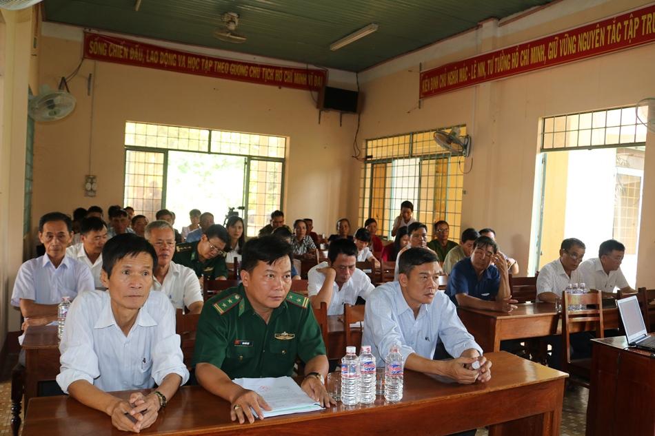 Hội nghị thông tin đối ngoại khu vực biên giới tỉnh Đắk Lắk, đợt 2 năm 2019