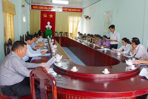 Chuẩn bị nội dung thực hiện kế hoạch kiểm tra, giám sát của Bộ Tài chính.