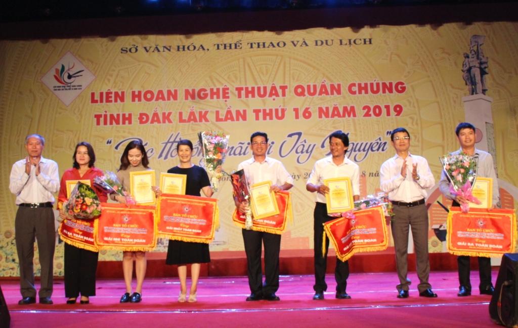 Bế mạc Liên hoan Nghệ thuật quần chúng tỉnh Đắk Lắk lần thứ 16 năm 2019