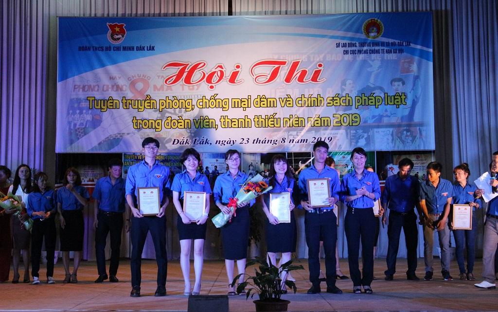 Hội thi tuyên truyền phòng, chống mại dâm và chính sách pháp luật trong đoàn viên, thanh thiếu niên năm 2019