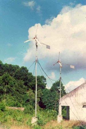 Lắp đặt cột đo gió để nghiên cứu, khảo sát đo gió