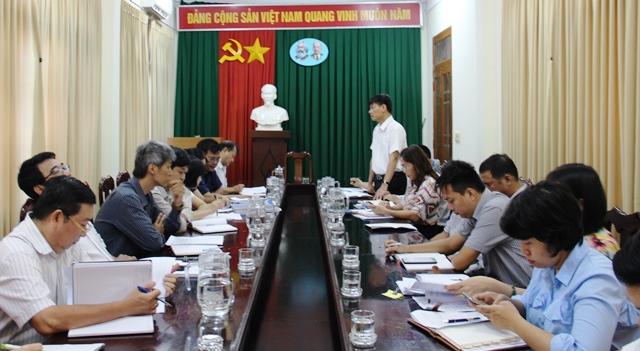 Kiểm tra kết quả thực hiện cải cách hành chính tại Sở Công Thương