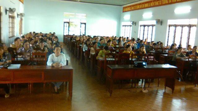 Hội LHPN huyện Krông Pắc khai giảng Lớp tập huấn nghiệp vụ công tác Hội Phụ nữ năm 2019