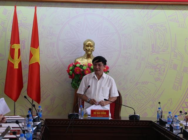 Họp phân công nhiệm vụ Tiểu Ban Văn kiện Đại hội đại biểu Đảng bộ tỉnh lần thứ XVII, nhiệm kỳ 2020-2025