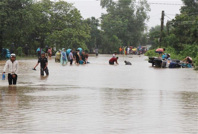 Hỗ trợ khắc phục thiệt hại do thiên tai gây ra trên địa bàn tỉnh