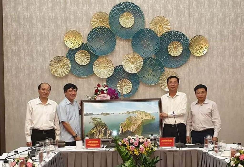 Đoàn công tác Tỉnh ủy Đắk Lắk làm việc tại Quảng Ninh