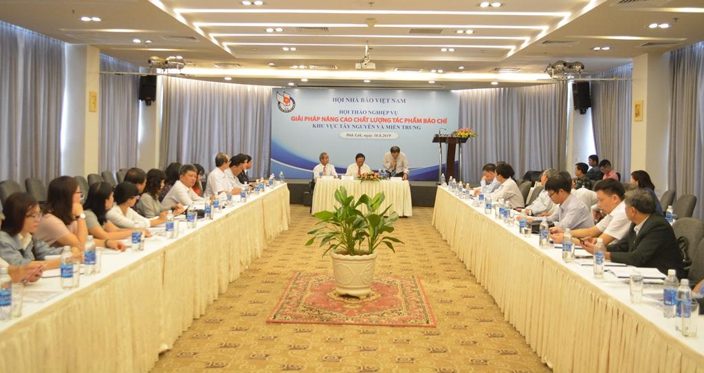 Hội thảo nâng cao chất lượng tác phẩm báo chí