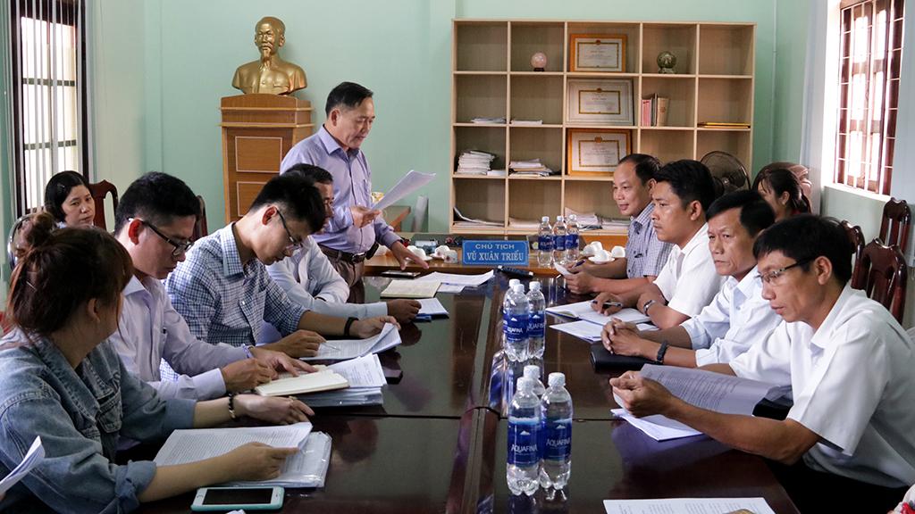 Kiểm tra công tác cải cách hành chính tại xã Hòa Sơn và thị trấn Krông Kmar, huyện Krông Bông