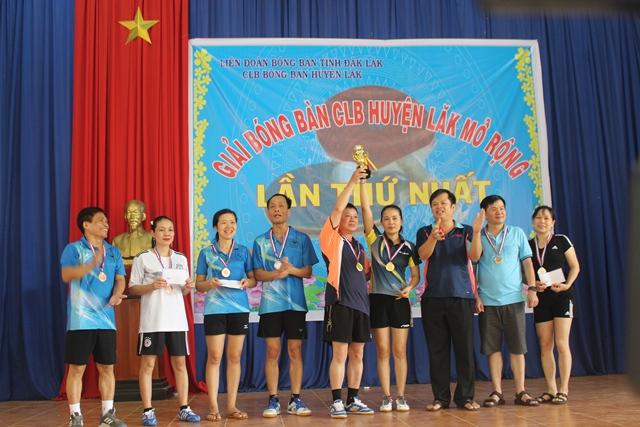 Sôi nổi giải bóng bàn huyện Lắk mở rộng lần thứ 1 năm 2019
