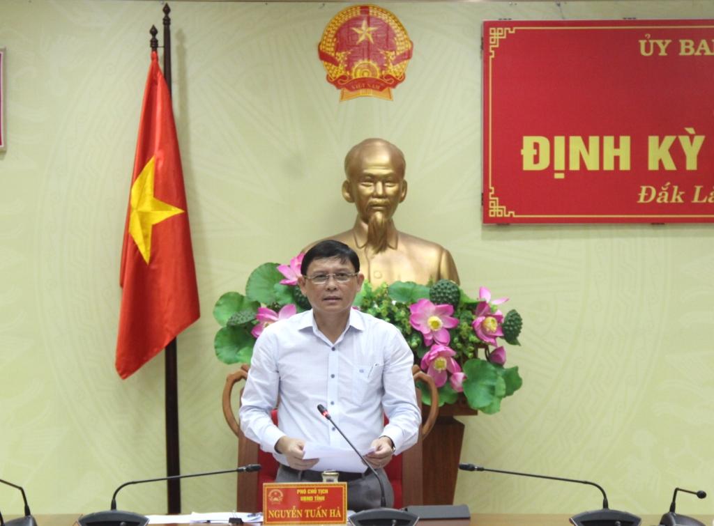 UBND tỉnh họp báo định kỳ tháng 8/2019