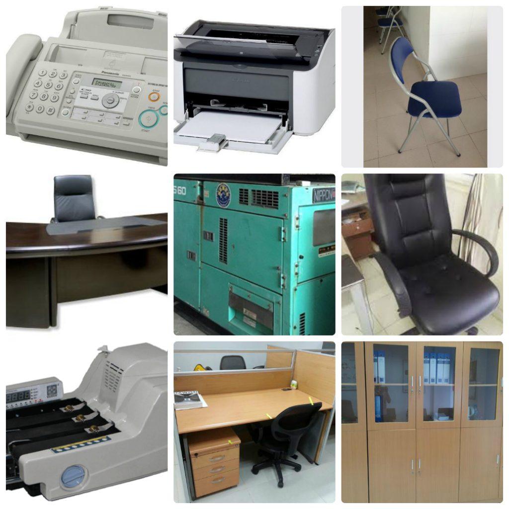 Phê duyệt Kế hoạch lựa chọn nhà thầu mua sắm tài sản công theo phương thức tập trung, Gói thầu số 15: Mua sắm trang thiết bị văn phòng cho các đơn vị trực thuộc Sở Y tế