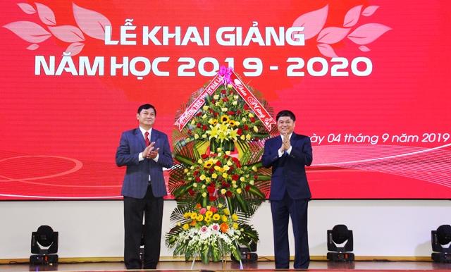 Trường Tiểu học, THCS, THPT Hoàng Việt khai giảng năm học 2019 - 2020