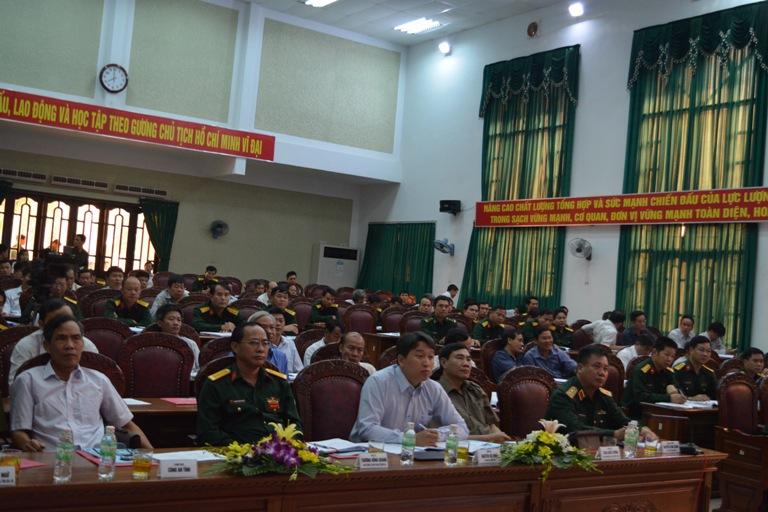 """Hội thảo khoa học """" Quy hoạch phát triển khu kinh tế - quốc phòng 737/Ea Súp, tỉnh Đắk Lắk""""."""