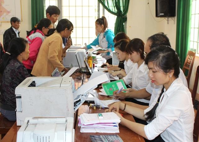Hiệu quả của Chương trình cho vay tín dụng nước sạch và vệ sinh môi trường ghi nhận từ xã Hòa Xuân.