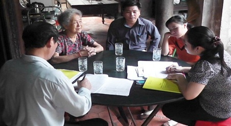 Triển khai Điều tra biến động dân số và kế hoạch hóa gia đình thời điểm 1/4/2020
