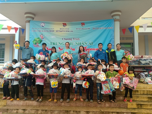 Chương trình Trung Thu nhân ái – San sẻ yêu thương cho thiếu nhi năm 2019