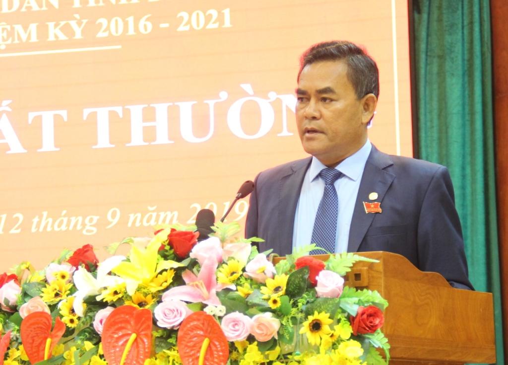 Kỳ họp bất thường HĐND tỉnh khóa IX thông qua nhiều Nghị quyết quan trọng