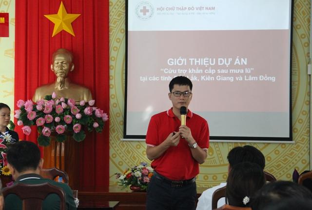 """Đắk Lắk triển khai Dự án """"Cứu trợ khẩn cấp sau mưa lũ"""""""