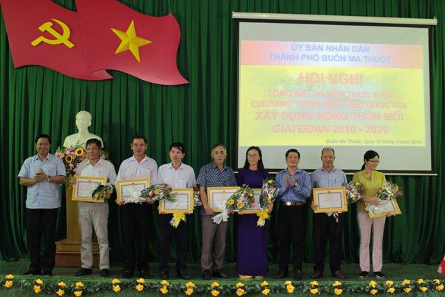 Hội nghị tổng kết 10 năm thực hiện xây dựng nông thôn mới giai đoạn 2010-2020.