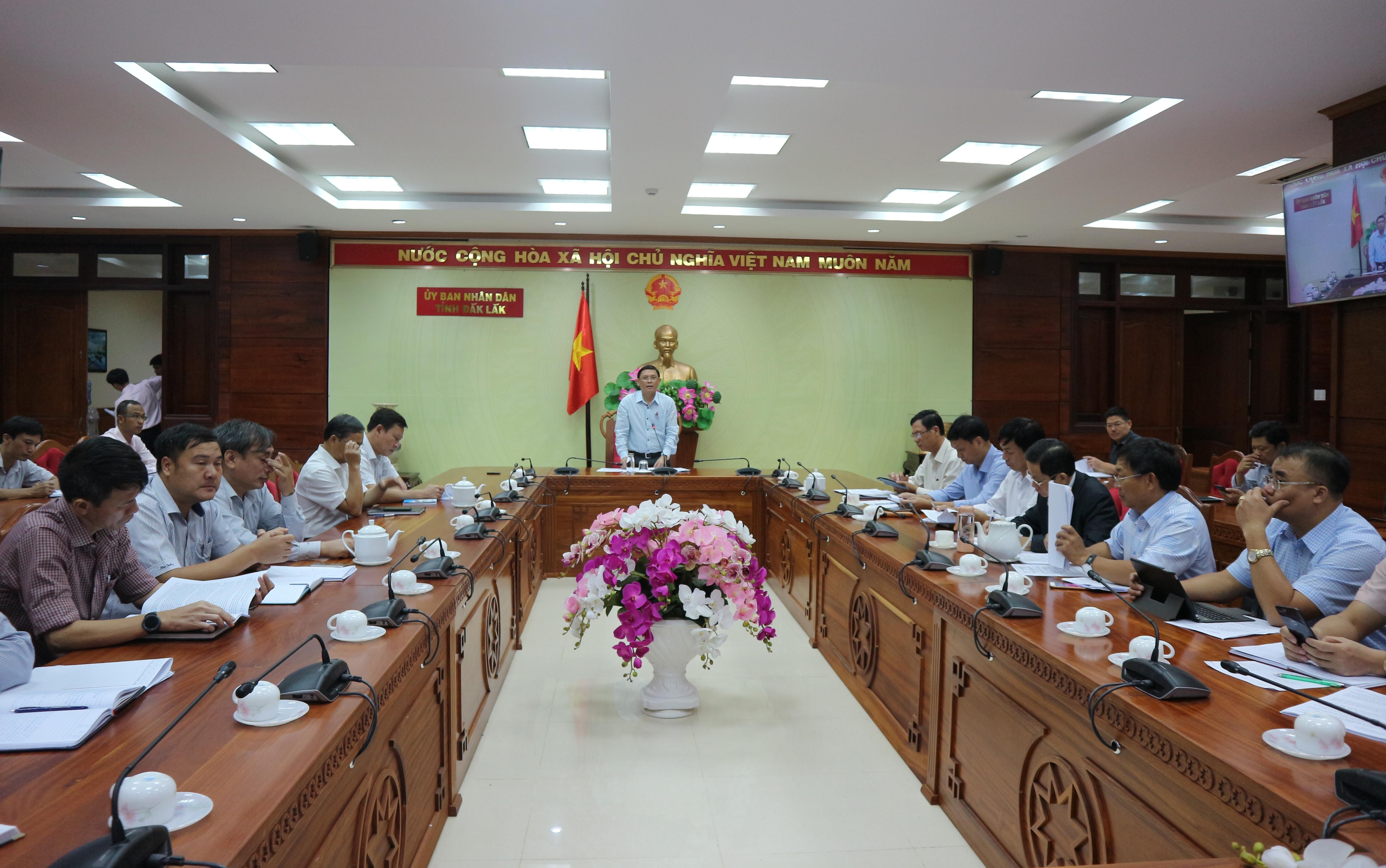Hội nghị trực tuyến chuyên đề xây dựng cơ bản