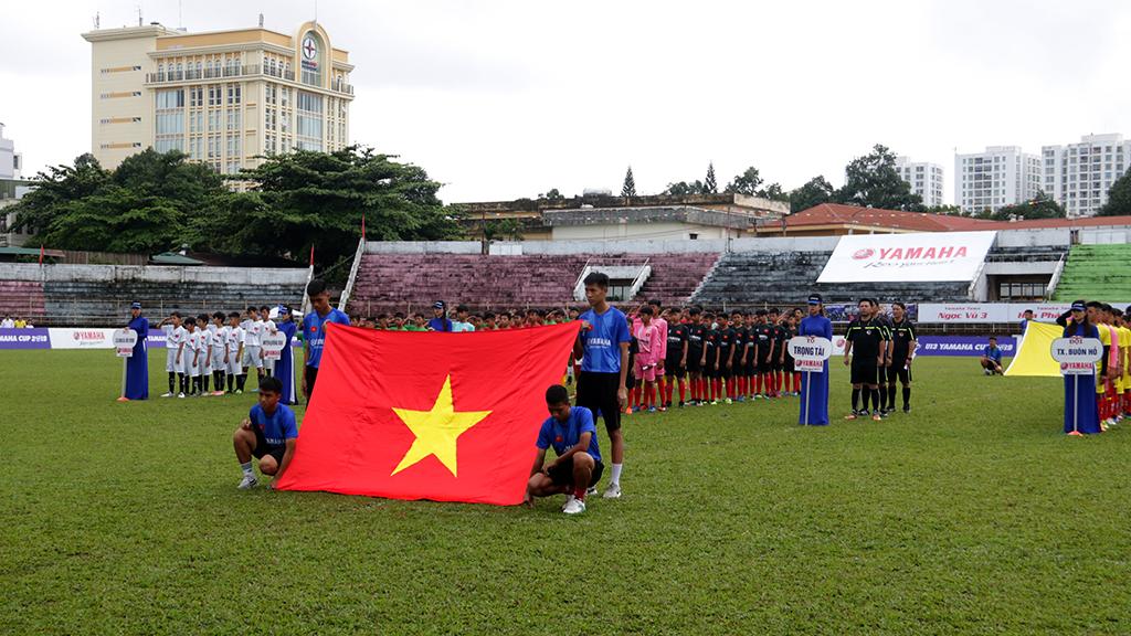 Khai mạc vòng loại giải bóng đá thiếu niên U13 Yamaha Cup 2019 tại Đắk Lắk
