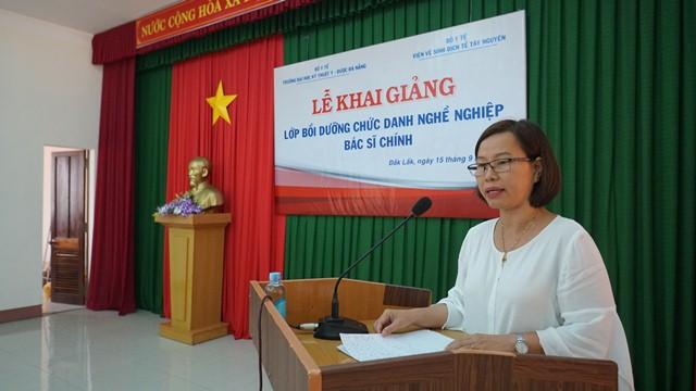 Khai giảng lớp bồi dưỡng chức danh nghề nghiệp bác sĩ chính tại Đắk Lắk
