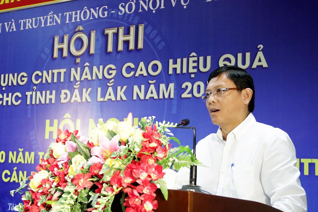 Hơn 100 thí sinh tham gia Hội thi ứng dụng công nghệ thông tin nâng cao hiệu quả cải cách hành chính tỉnh Đắk Lắk năm 2019