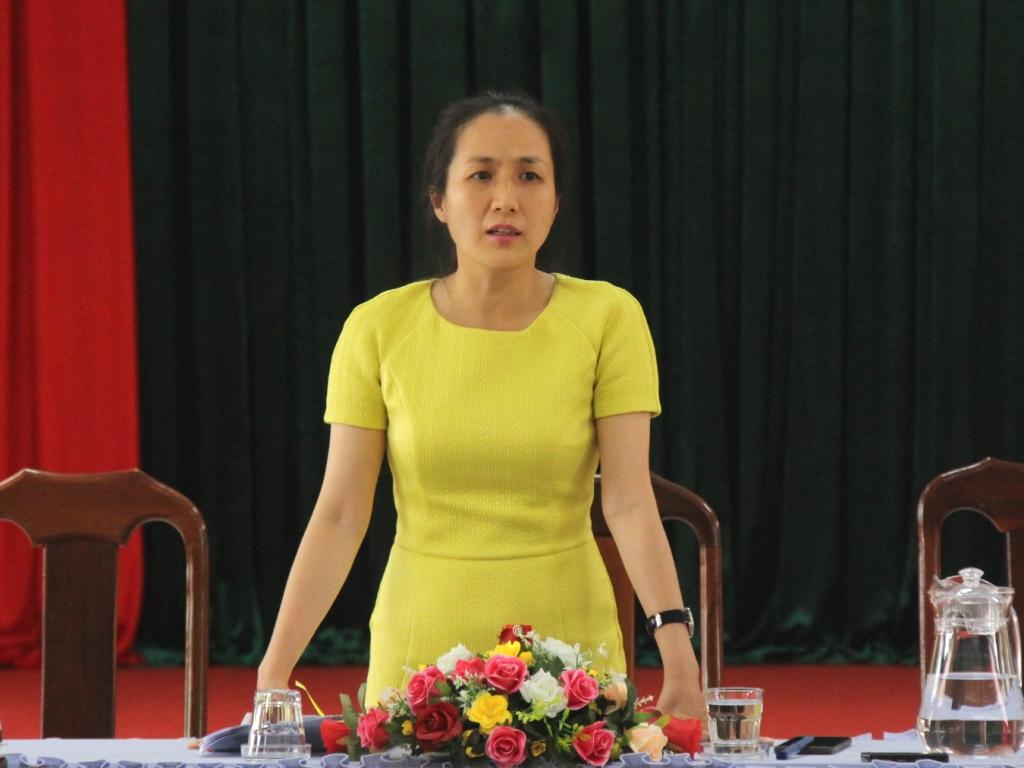 Tổ công tác của Chủ tịch UBND tỉnh làm việc tại Sở Y tế