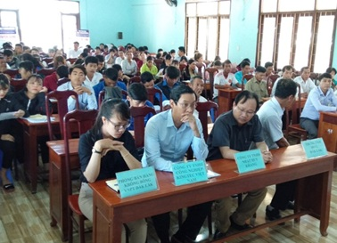 Phiên giao dịch việc làm lưu động huyện Krông Bông năm 2019