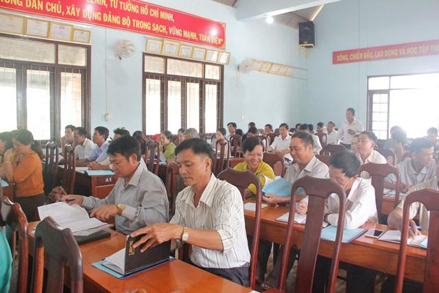 Phổ biến pháp luật về tiếp công dân, khiếu nại, tố cáo và phòng chống tham nhũng tại xã Cư Pui