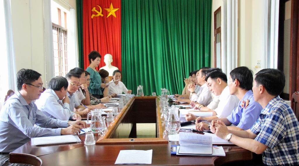 Kiểm tra công tác pháp y trên địa bàn tỉnh Đắk Lắk