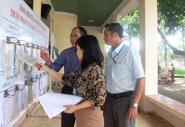 Kiểm tra công tác cải cách hành chính tại huyện Cư M'gar