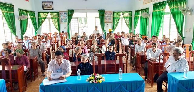 Hội Người cao tuổi xã Hòa Phong tổ chức kỷ niệm 28 năm ngày Quốc tế Người cao tuổi 01/10/1991 – 01/10/2019