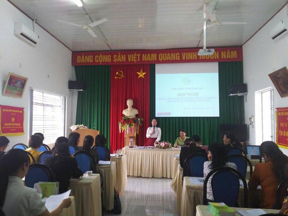 Hội LHPN tỉnh tổ chức Hội nghị BCH lần thứ 13