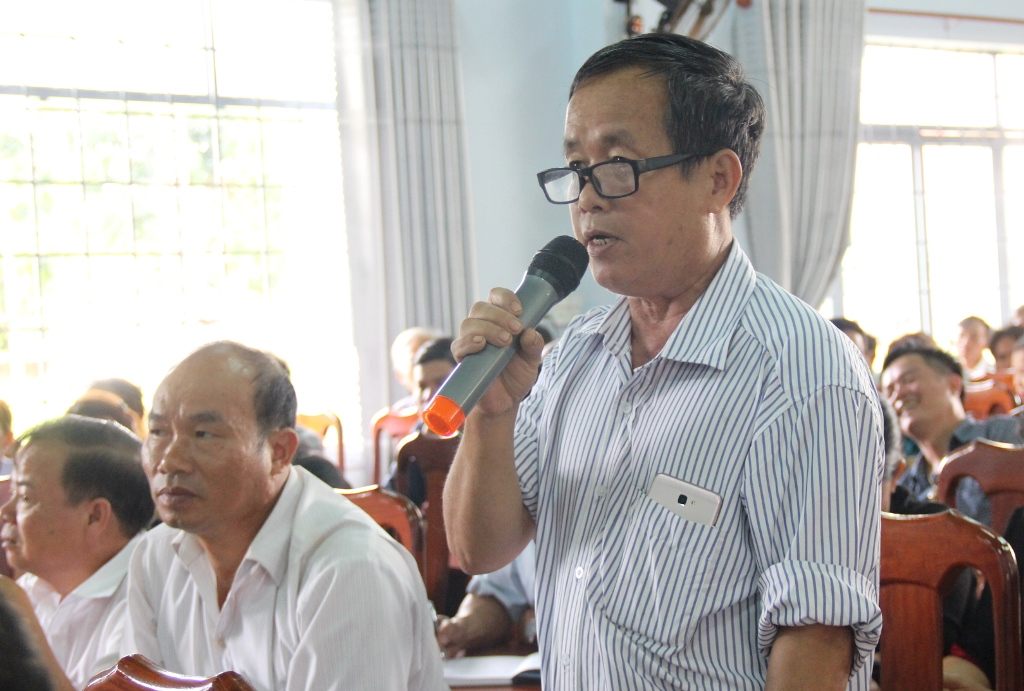 Đoàn Đại biểu Quốc hội tỉnh tiếp xúc cử tri huyện Cư M'gar