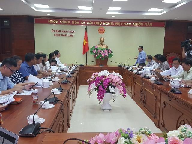 Họp định hướng hoạt động phối hợp đồng hành giữa SVF và UBND tỉnh Đắk Lắk