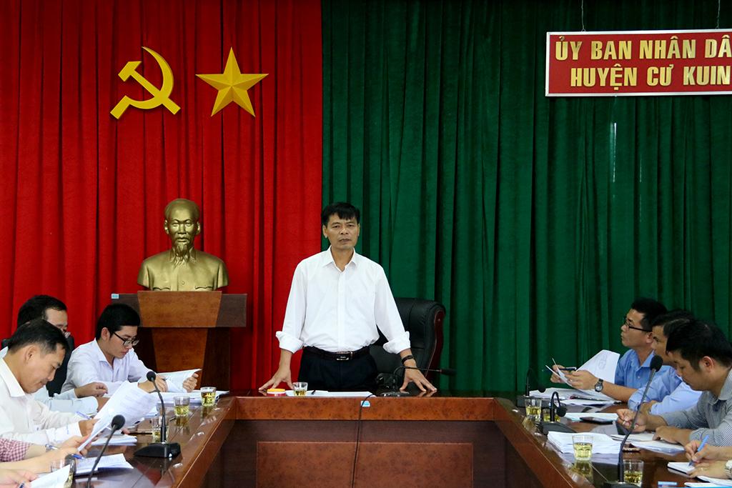 Kiểm tra công tác cải cách hành chính tại huyện Cư Kuin