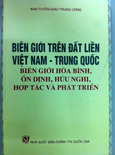 Hướng dẫn tuyên truyền công tác biên giới trên đất liền Việt Nam với các nước láng giềng Trung Quốc, Lào, Canpuchia