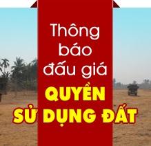 Đấu giá quyền sử dụng đất tại xã Ea Khal, huyện Ea H'leo