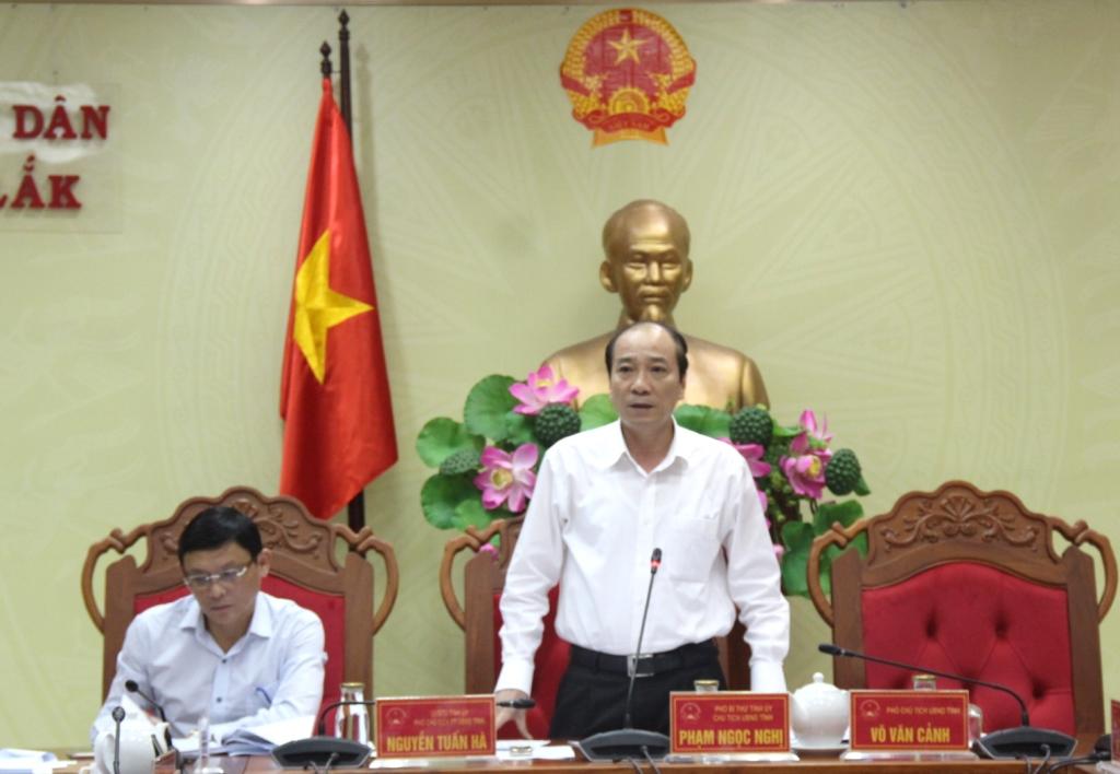 UBND tỉnh họp chuẩn bị nội dung trình Kỳ họp thứ 9, HĐND tỉnh