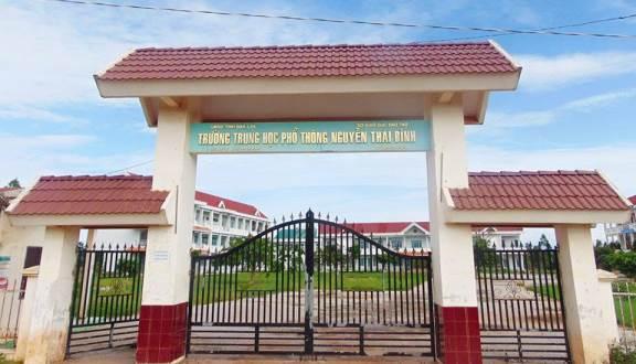 Phê duyệt kế hoạch lựa chọn nhà thầu công trình: Trường THPT Nguyễn Thái Bình, huyện Ea Kar thuộc Chương trình phát triển giáo dục trung học, giai đoạn 2 – Hạng mục: Nhà lớp học 12 phòng và hạ tầng kỹ thuật