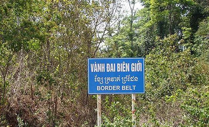 Xác định vành đai biên giới trên địa bàn tỉnh Đắk Lắk
