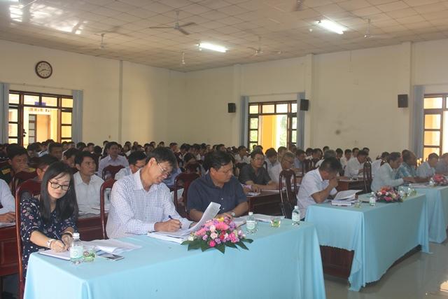 Huyện ủy Cư Kuin sơ kết 9 tháng và triển khai nhiệm vụ 3 tháng cuối năm 2019