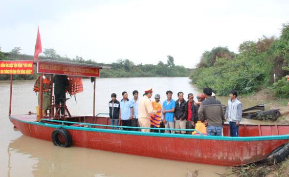 Đắk Lắk tăng cường xử lý giao thông đường thủy