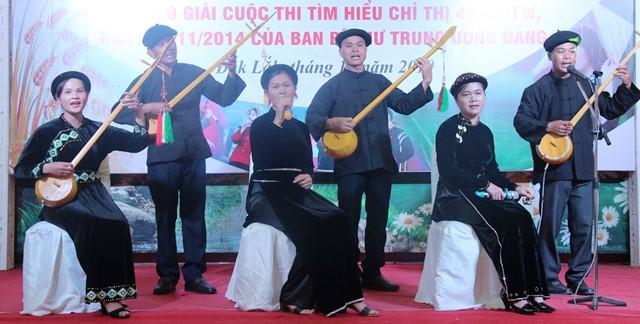 """Liên hoan """"Tiếng hát nông dân"""" Đắk Lắk năm 2019: Hội Nông dân thành phố Buôn Ma Thuột đạt giải Nhất"""